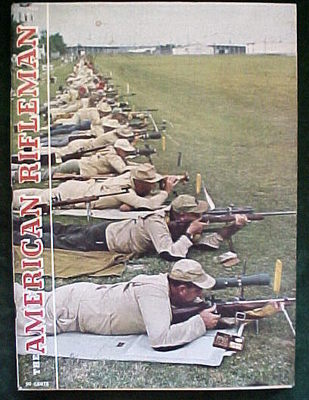 5) American Rifleman 1965 (Apr,Aug,Oct); 1966 (Jan,Feb)-Air Rifles;GUNS;HUNTING image 5