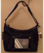 NWT JUICY COUTURE Heart Medallion Black Lively Hobo Handbag NEW (MAKE AN... - $132.96