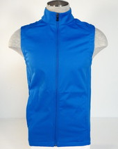 Under Armour UA Golf Coldgear Infrared Blue Zip Front Vest Mens NWT - $59.99