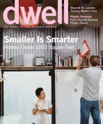 DWELL MAY 2007-SMALLER IS SMARTER-HOMES UNDER 1000 sq.ft;One Space;ITALIAN VILLA