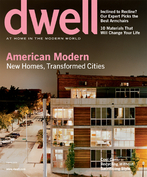 DWELL OCTOBER 2006-New Homes,Transformed Cities;AMERICAN MODERN;ARMCHAIRS;RECYCL image 1