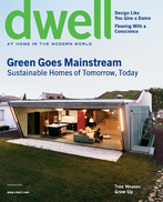 DWELL SEPTEMBER 2006-Sustainable Homes of Tomorrow,Today;Design;Flooring;VILLAS