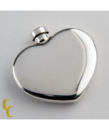 Tiffany & Co. Vintage Sterling Silver Heart Shaped Perfume Bottle Flask - $297.00