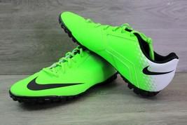 ✅ NEW Nike Bomba TF Electric Green/Black-White 826486-301 Men's Size 12 SOCCER ✅ - $59.35