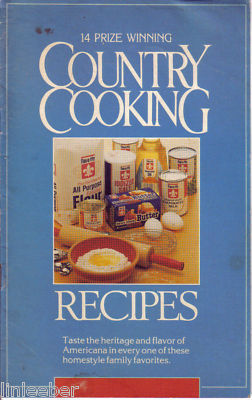 Flav-o-rite Country Cooking Recipes:14 Prize Winning Recipes-1987&1988 COOK-OFFS