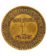 Rare 1920 France 1 Franc Coin Low Mintage 590,000 Actual Photos Shown Lo... - £8.65 GBP