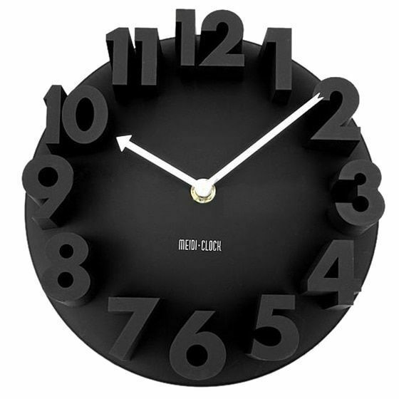 Primary image for Modern 3d Wall Clock Decor Home Quartz Art Design Room Number Office Loft Study