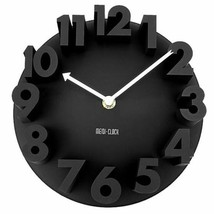 Modern 3d Wall Clock Decor Home Quartz Art Design Room Number Office Lof... - $34.17