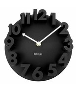 Modern 3d Wall Clock Decor Home Quartz Art Design Room Number Office Lof... - €23,81 EUR