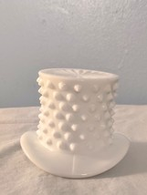 Fenton Milk Glass Hobnail Top Hat Toothpick or Matchstick Holder - $20.95