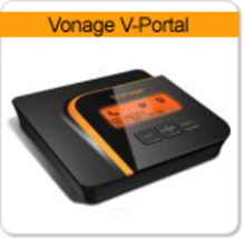 Vonage VDV21 V-Portal VoIP Telephone Adapter Router with calling ID info screen - $68.88