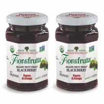 2 Rigoni di Asiago Fiordifrutta Organic Fruit Spread Blackberry, Gluten ... - $14.49