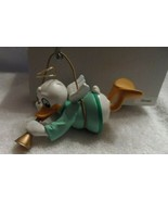 Disney Grolier Donald playing a horn Christmas Ornament w/Box   - $13.00