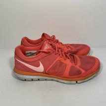 Nike Flex Run 2014 Bright Pink Running Sneaker Shoe Women's 9.5 642767-602 - $34.64