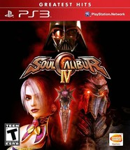 Soul Calibur Iv PS3 Greatest Hits - Ln - $9.84