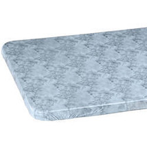 Marbled Elasticized Banquet Table Cover-48x24-Gray - $14.59