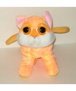 1/2 Price! Applause Plush Orange Kitty Kitten Cat Handbag Purse Bag - $6.00
