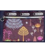 FLOATING SEEDS TREES Print Ballistic Fabric All Purpose Rainbow Zippered... - $14.99