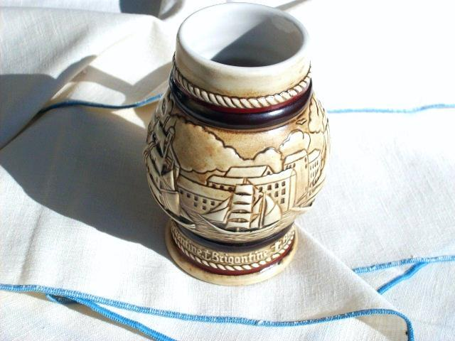 Avon's TALL SHIPS Ceramic Stein - Brand New In Box!