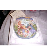 WINNIE THE POOH COLLECTERS PLATE A POOH - ISH SORT OF PINIC LIMITED EDITION - $23.99