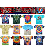 GRATEFUL DEAD T-Shirts Tie Dye 50th Anniversary New Authentic Licensed S... - $12.95