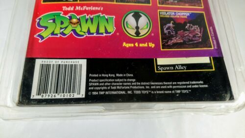 Green Tremor SPAWN Action Figure Todd McFarlane 1994 Series 1 & Comic Book New!