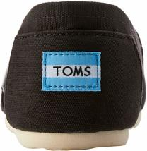 NEW Toms Women's The Venice Collection Classic Black Canvas Slip On Flats Shoes image 5