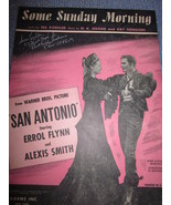 Vintage Sheet Music Some Sunday Morning from San Antonio Movie with Erro... - $7.99