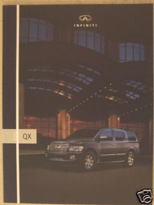 Primary image for 2005 Infiniti QX56 SUV Full Color Brochure