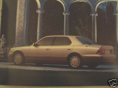 1996 Lexus Full Line Color Brochure - LS400, GS300, ES300, SC300, SC400