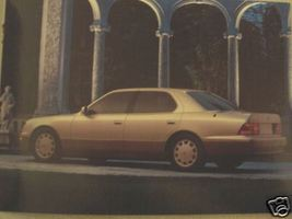 1996 Lexus Full Line Color Brochure - LS400, GS300, ES300, SC300, SC400 - $12.00