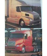 Volvo 610 Sleeper Tractor Color Brochure - $11.00