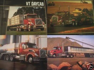 Primary image for 2006 Volvo VT Daycab Trucks Brochure