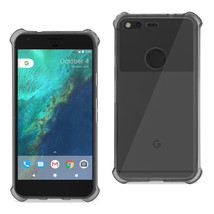 REIKO GOOGLE PIXEL CLEAR BUMPER CASE WITH AIR CUSHION PROTECTION IN CLEA... - $7.94