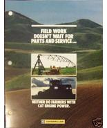 Early 80s Caterpillar Agricultural Engines Parts and Service Brochure - $6.00