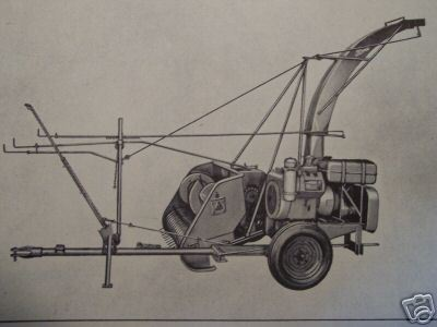 1958 Ford Series 605 Forage Harvesters Owner's Manual