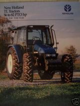 1999 New Holland TL70, TL80, TL90, TL100 Tractors Brochure - $4.80