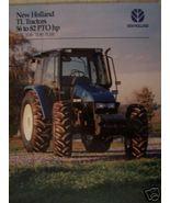 1999 New Holland TL70, TL80, TL90, TL100 Tractors Brochure - $4.80