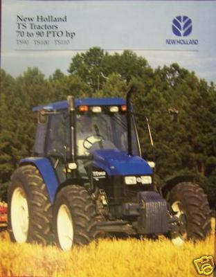Primary image for 1997 New Holland TS90, TS100, TS110 Tractors Brochure