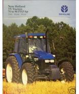 1997 New Holland TS90, TS100, TS110 Tractors Brochure - $4.80