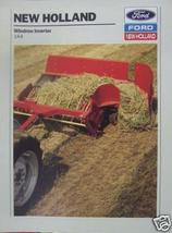 1989 New Holland 144 Windrow Inverter Brochure - Color - $4.20
