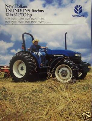 2000 New Holland TN, TND, TNS Series Tractors Brochure