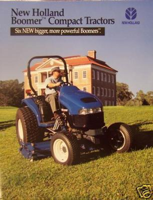 1999 New Holland TC Series Compact Tractors Brochure