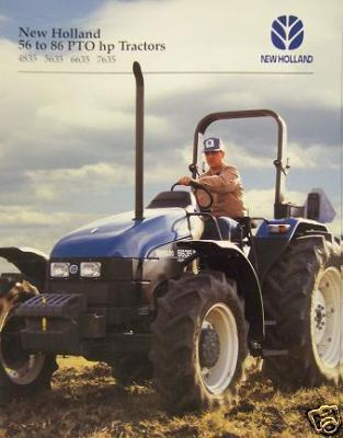 Primary image for 1997 New Holland 4835, 5635, 6635, 7635 Tractors Brochure