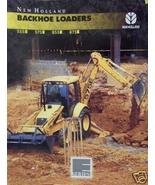 1996 New Holland 555E, 575E, 655E, 675E Tractor/Loader/Backhoes Brochure - $7.80
