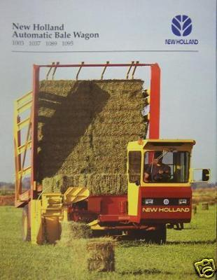 1996 New Holland 1003,1037,1089,1095 Bale Wagons Brochure