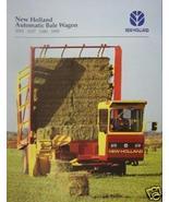 1996 New Holland 1003,1037,1089,1095 Bale Wagons Brochure - $5.40