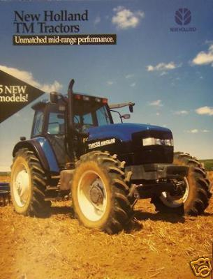 1999 New Holland TM Series Tractors Brochure/Poster