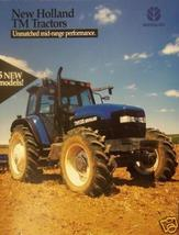 1999 New Holland TM Series Tractors Brochure/Poster - $5.40