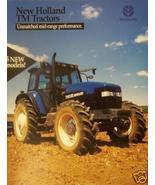 1999 New Holland TM Series Tractors Brochure/Poster - $5.40